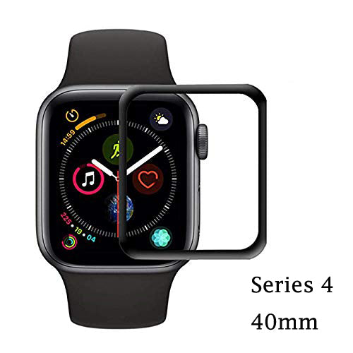 Apple watch serie 4 40mm 44mm screen protector anti scratch anti fingerpritn tempered glass screen protector film iMartCity with 3d curved edges