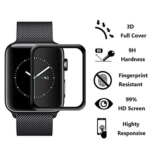 Apple watch serie 4 40mm 44mm screen protector anti scratch anti fingerpritn tempered glass screen protector film iMartCity feature summary