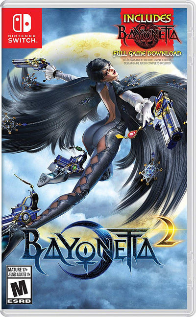 Bayonetta 2 (Game Card + Digital Download) nintendo games - iMartCity