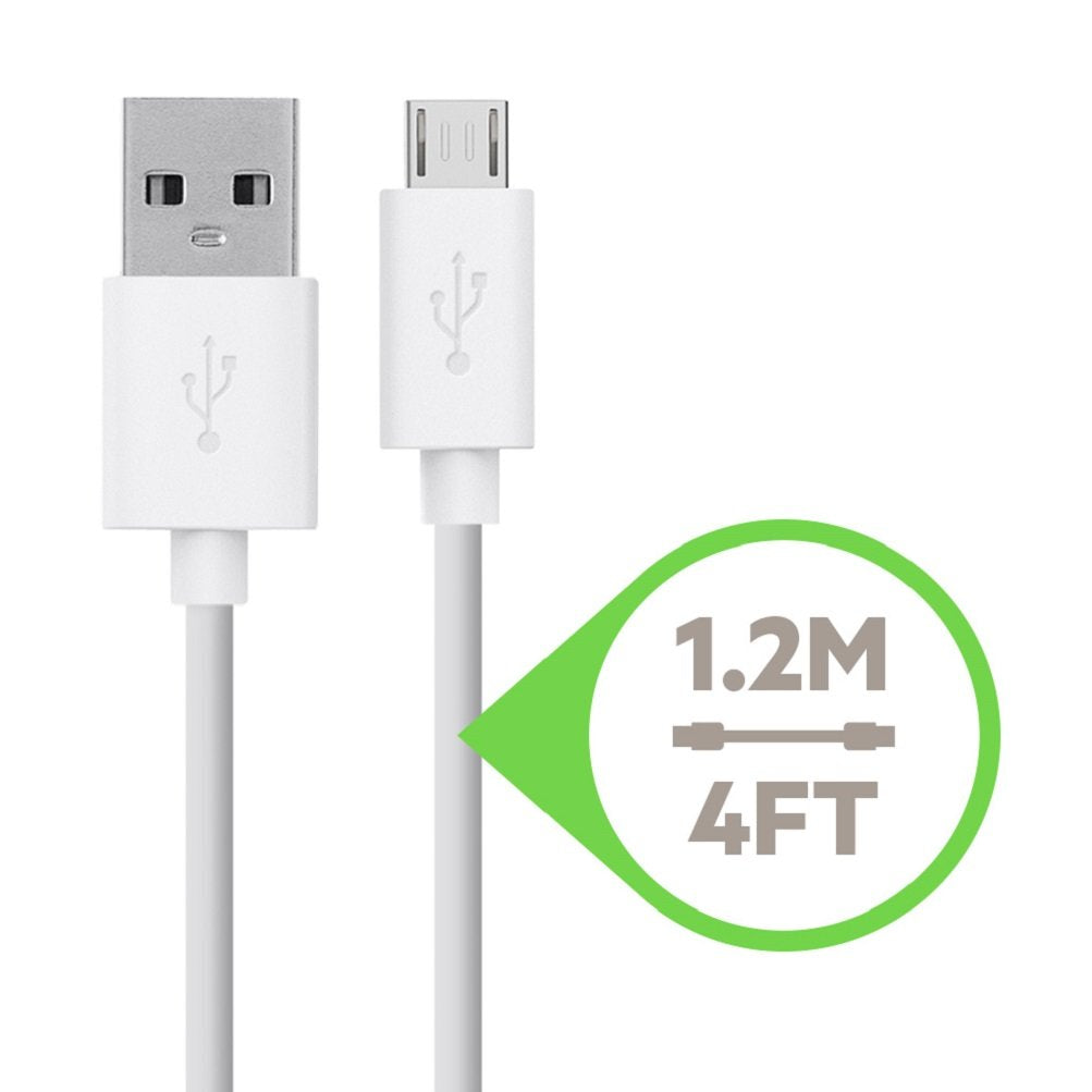 Belkin BOOST UP 12W 2.4A Charger with ChargeSync Cable for iPad and iPhone 5