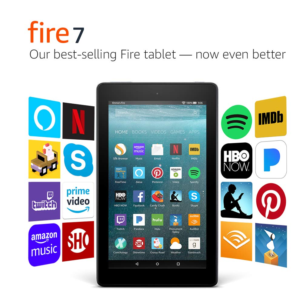 Fire 7 Tablet with Alexa 7inch Display iMartCity