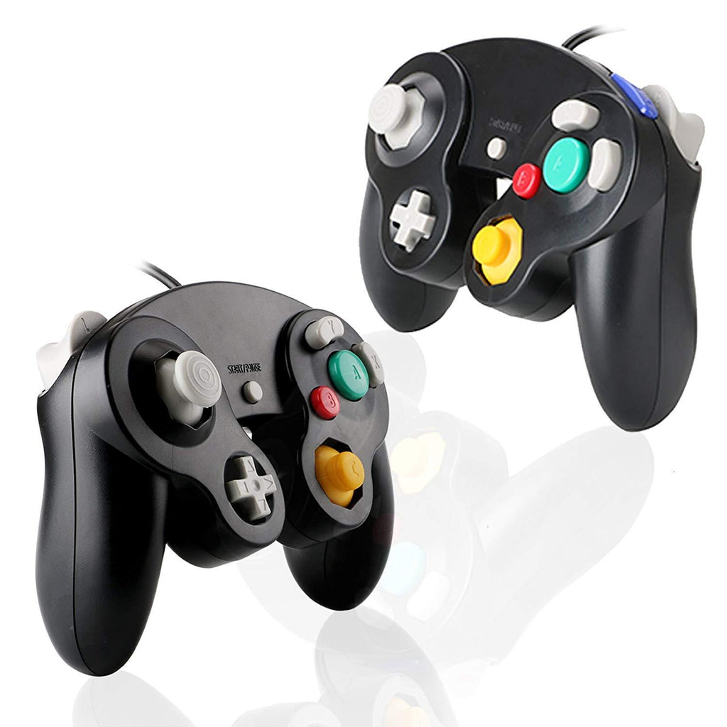 GameCube Controller for Nintendo Wii and GameCube [2 Packs] - iMartCity