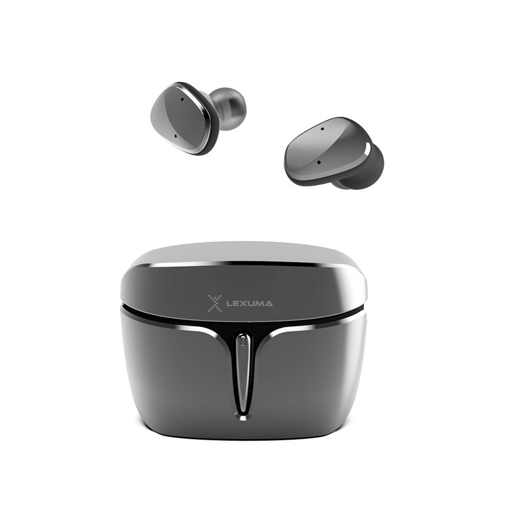 iMartCity-Lexuma-XBud2-Mini-true-wireless-stereo-bluetooth-earbuds-pink-sports-workout-earphones-waterproof-black