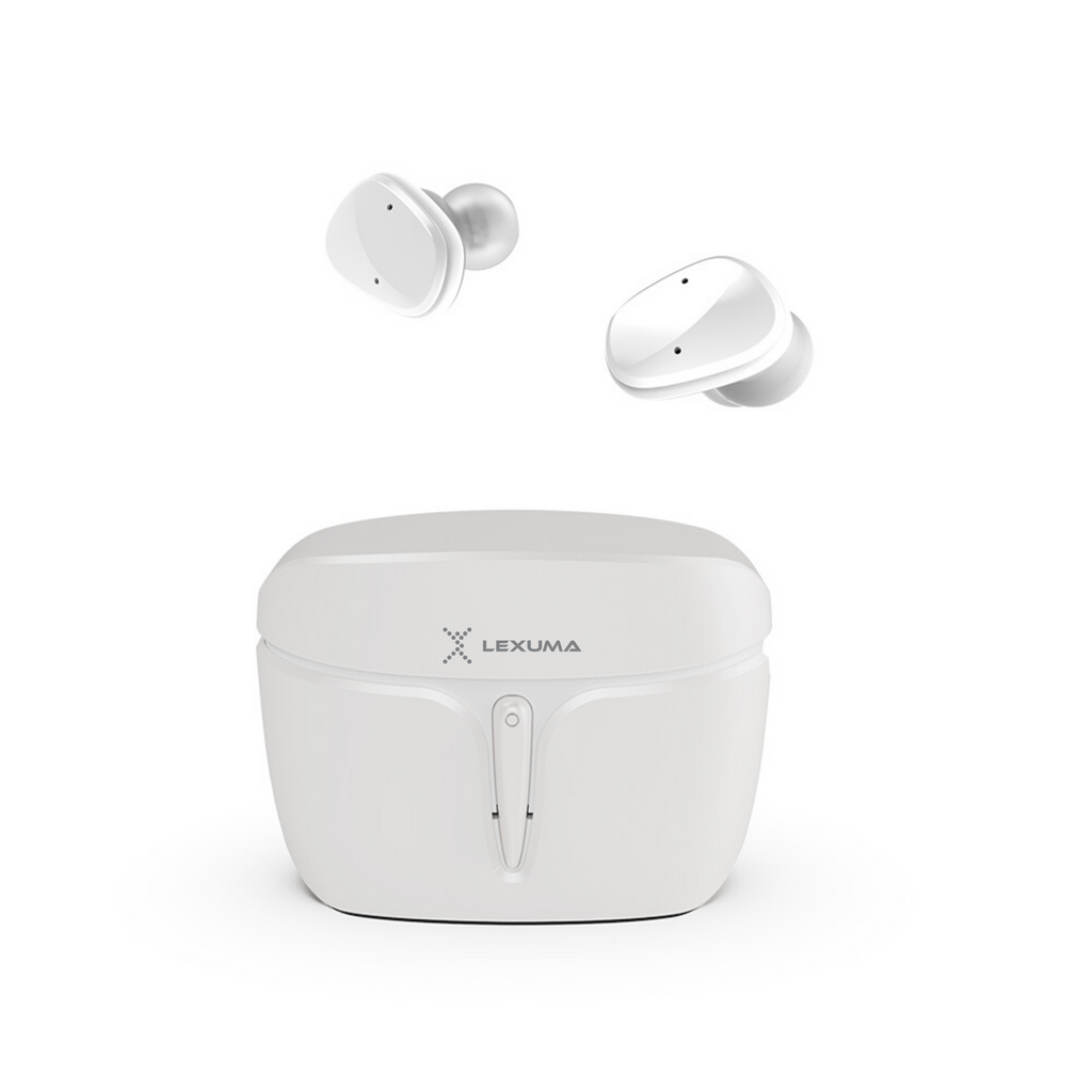 iMartCity-Lexuma-XBud2-Mini-true-wireless-stereo-bluetooth-earbuds-pink-sports-workout-earphones-waterproof-white