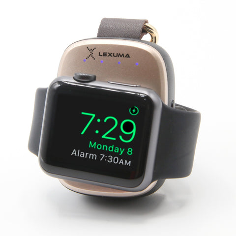 Lexuma XTag Apple Watch Portable Charger pantheon best portable mini keychain power bank case series 4 wireless charging belkin valet griffin amber charging case batterypro smashell power case mipow 2-in-1 keychain case capshi portable wireless charge best aftermarket charging case wireless charging case power bank portable adapter wireless mfi certified anker iwatch insignia charging stand target series 4 - iMartCity