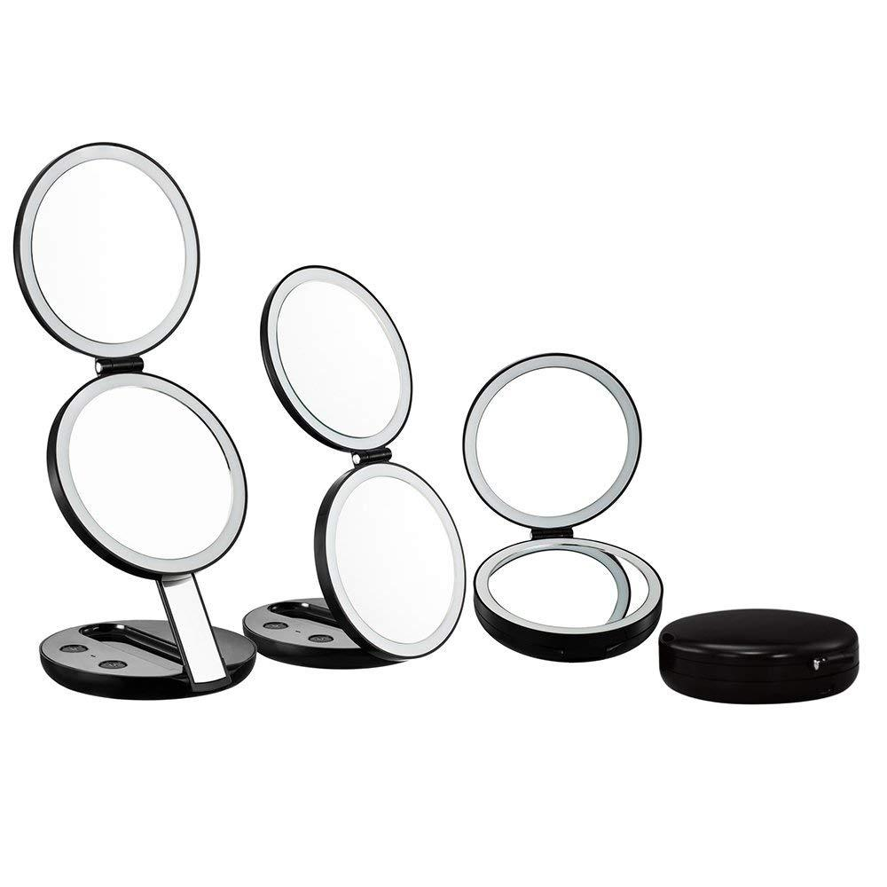 Led Lighted Beauty Makeup Mirrors Combo Imartcity Global