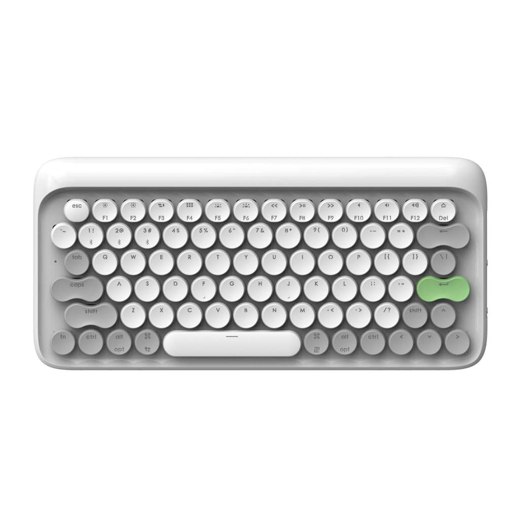 Wireless Mac Mechanical Keyboard - Vernal White By Lofree