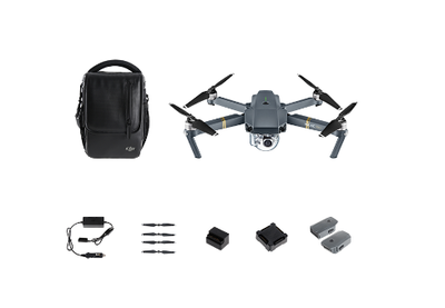 DJI MAVIC PRO Fly More Combo - A small yet powerful drone (combo) - GadgetiCloud