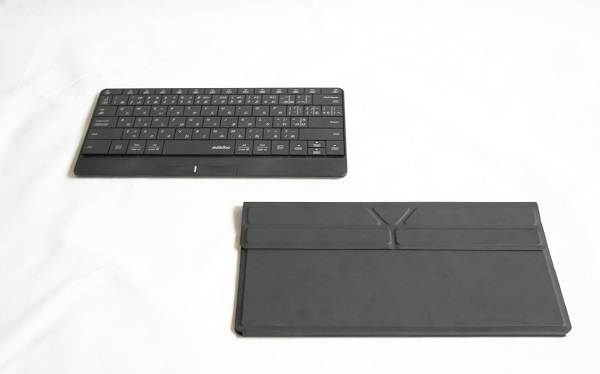 Mokibo 2-in-1 Touchpad-embedded Wireless Keyboard [French Keyboard Layout]