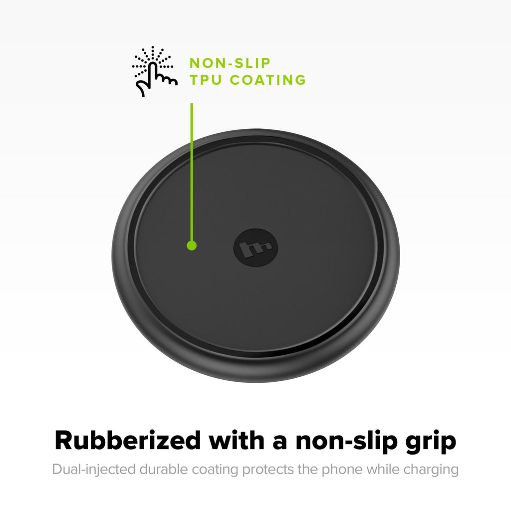 Mophie 7.5W Qi Wireless Charging Base Pad for Iphone anker multiple device samsung stand belkin  hlz42b Native Universal Cell phone smart charging pad Mophie Charge Force Belkin Boost Up ravpower - iMartCity