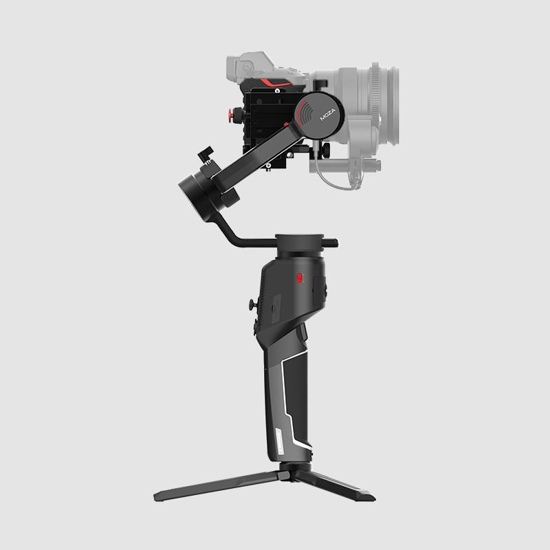 MOZA AirCross 2 Professional Camera Stabilizer beyond your imagination white color without mobile side view