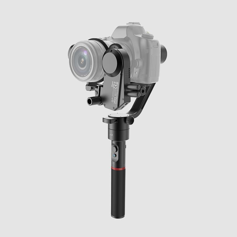 MOZA Air lightweight handheld gimbal for all mirrorless cameras and DSLRs sleek design powerful performance with thumb controller side