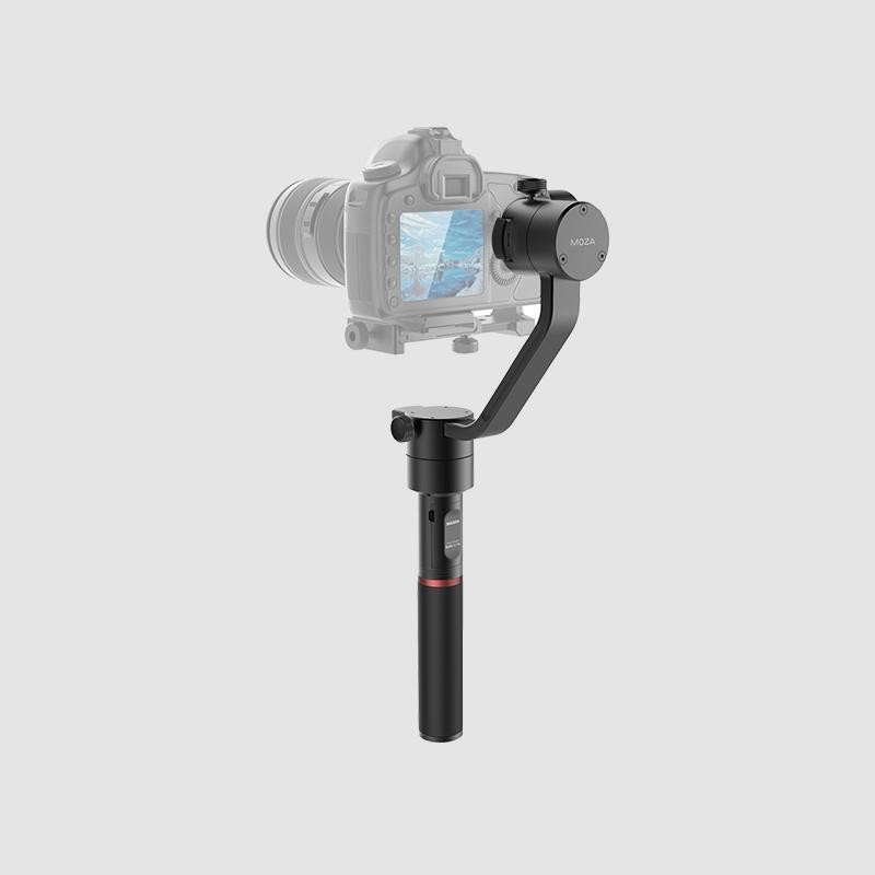 MOZA Air lightweight handheld gimbal for all mirrorless cameras and DSLRs sleek design powerful performance back