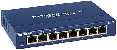 NETGEAR ProSAFE GS108E 8-Port Gigabit Ethernet Unmanaged Plus Switch iMartCity