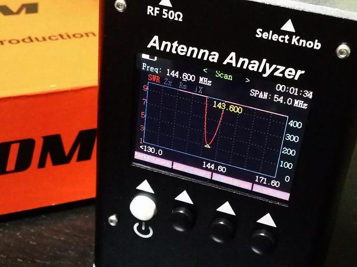 SURECOM Antenna Analyzer SA250  132-173 200-260 400-519MHz - GadgetiCloud