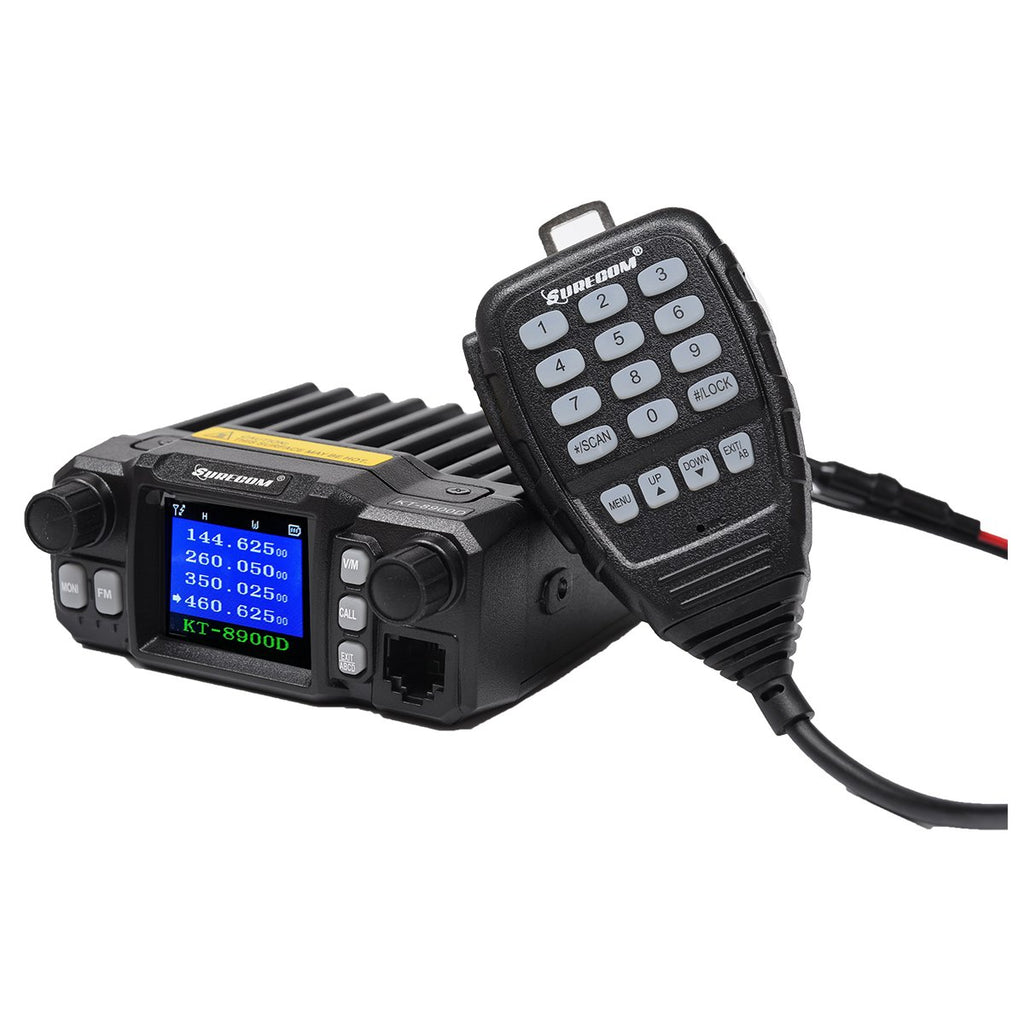 SURECOM KT-8900D MINI COLOR SCREEN MOBILE RADIO - GadgetiCloud