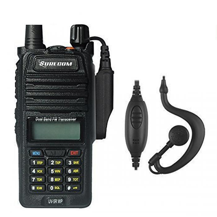 SURECOM UV5RWP IP57 waterproof DUALBAND RADIO - GadgetiCloud