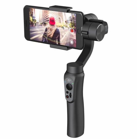 ZHIYUN Smooth Q - 3 Axis Handheld Gimbal Stabilizer Camera Mount For Cell Phone Smartphone iphone mobile stabilizer dobot rigiet DJI osmo LanParte EVO PRO SHIFT movi freefly stabilisateur Video Stabilizing (for iphone 8, X, Samsung, Huawei, xiaomi) - iMartCity