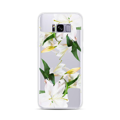Personalized Case for Android - White Lily - iMartCity