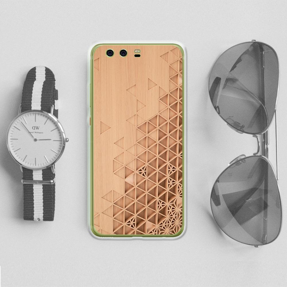 Personalized Case for Android - Carved Wood -iMartCity