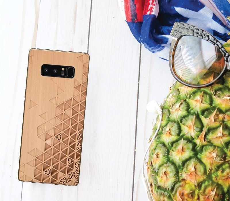 Personalized Case for Android - Carved Wood - iMartCity