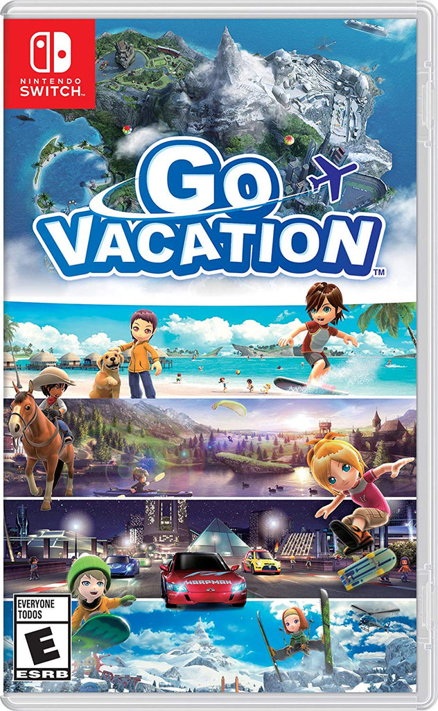 Go Vacation - Nintendo Switch game - iMartCity