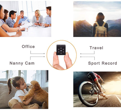 SEC-C220 thumb-size mini security camera with night vision motion detection HD 1080P recording portable HD IP cam hidden Spy IP CCTV Cam small Tinny ThumbSize nanny Tiny Covert Cube Cam features Wifi NIYPS AOBO SQ - iMaryCity