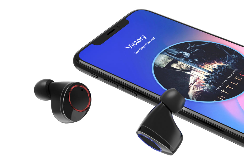 Lexuma Xbud-Z True Wireless stereo In-Ear Bluetooth With Charging Case IPX7 waterproof earbuds for working out running headphones earphones with power bank Water-resistant rechargeable mpow flame AS X2T+ ip8 jbl endurance dive jabra elite 65t ikanzi TWS-X9 x3t x4t tws apa itu tws i12 tozo t10 best wireless earbuds best wireless earbuds for working out - iMartCity