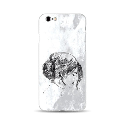 iPhone Case - Sketch of Chinese Woman - iMartCity