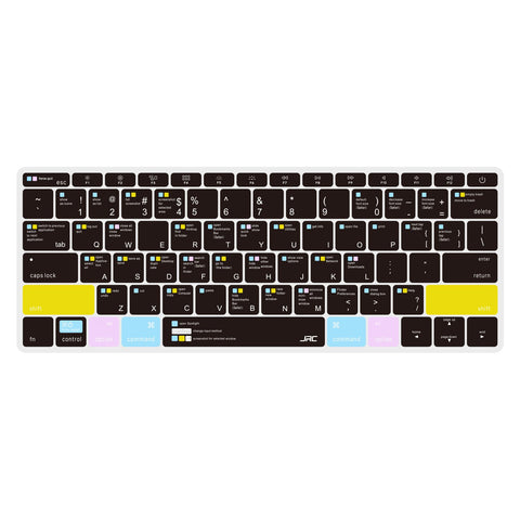 MacBook Keyboard Cover - Cool Black - iMartCity