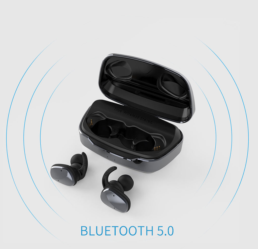 Lexuma XBUD2 XBUD TWS LE-702 wireless earbuds with charging case true wireless stereo bluetooth earphones best bluetooth 5.0 BT5.0 In-Ear headphones for sport workout gym multi colors colorful Lightweight IP56 waterproof sweatproof protection - iMartCity