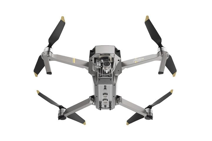 DJI MAVIC PRO PLATINUM - A sleek design and compact body, best portable drone - GadgetiCloud
