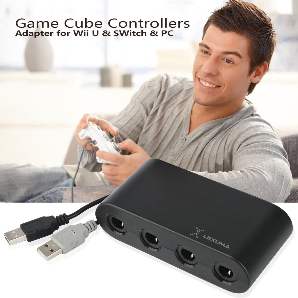 GameCube Controller Adapter for Wii U, Nintendo Switch and PC USB by Lexuma - iMartCity nintendo switch gamecube adapter switch gamecube adapter gamecube controller adapter switch gamecube adapter switch enjoy video games