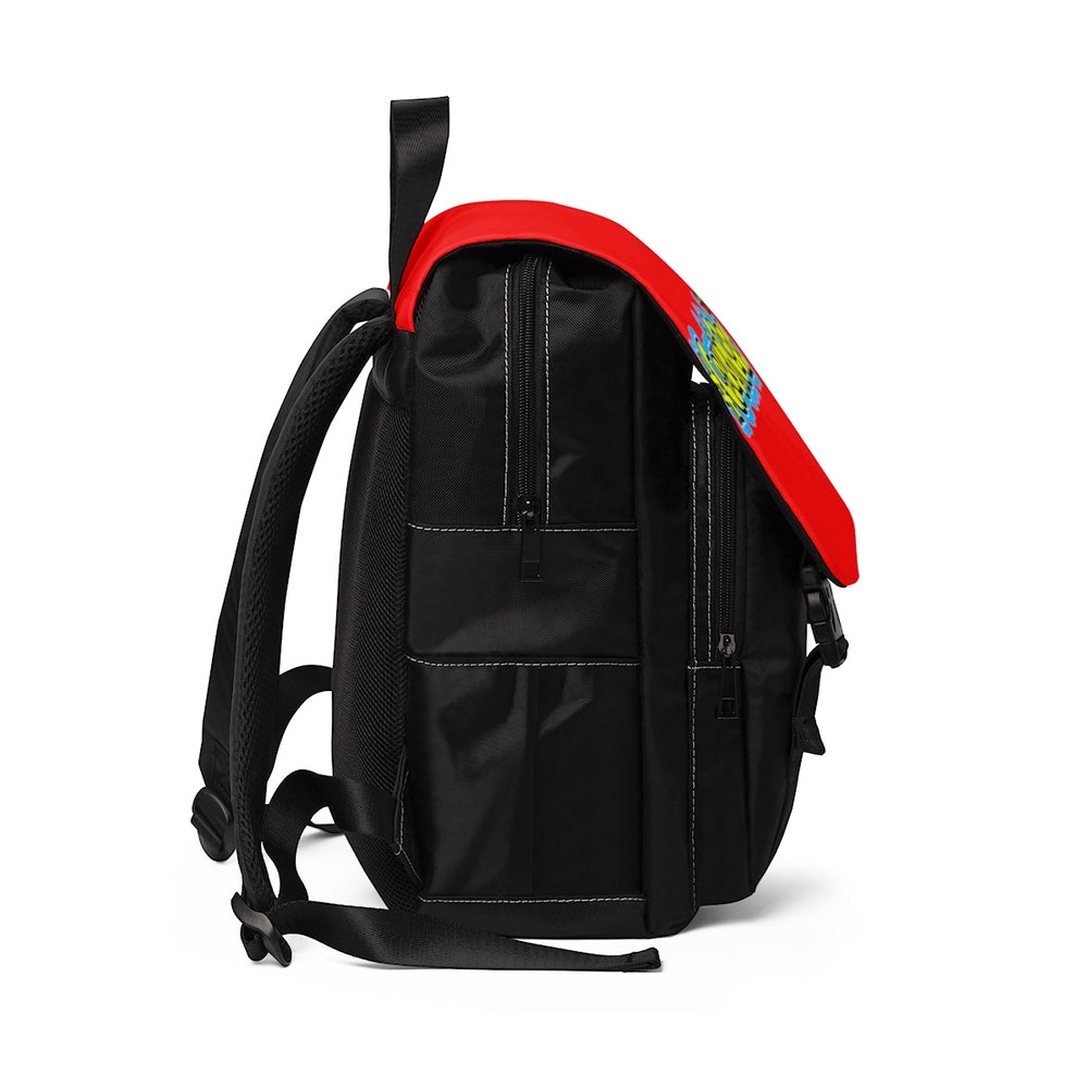 #CousinGoals Casual Shoulder Backpack (Red)