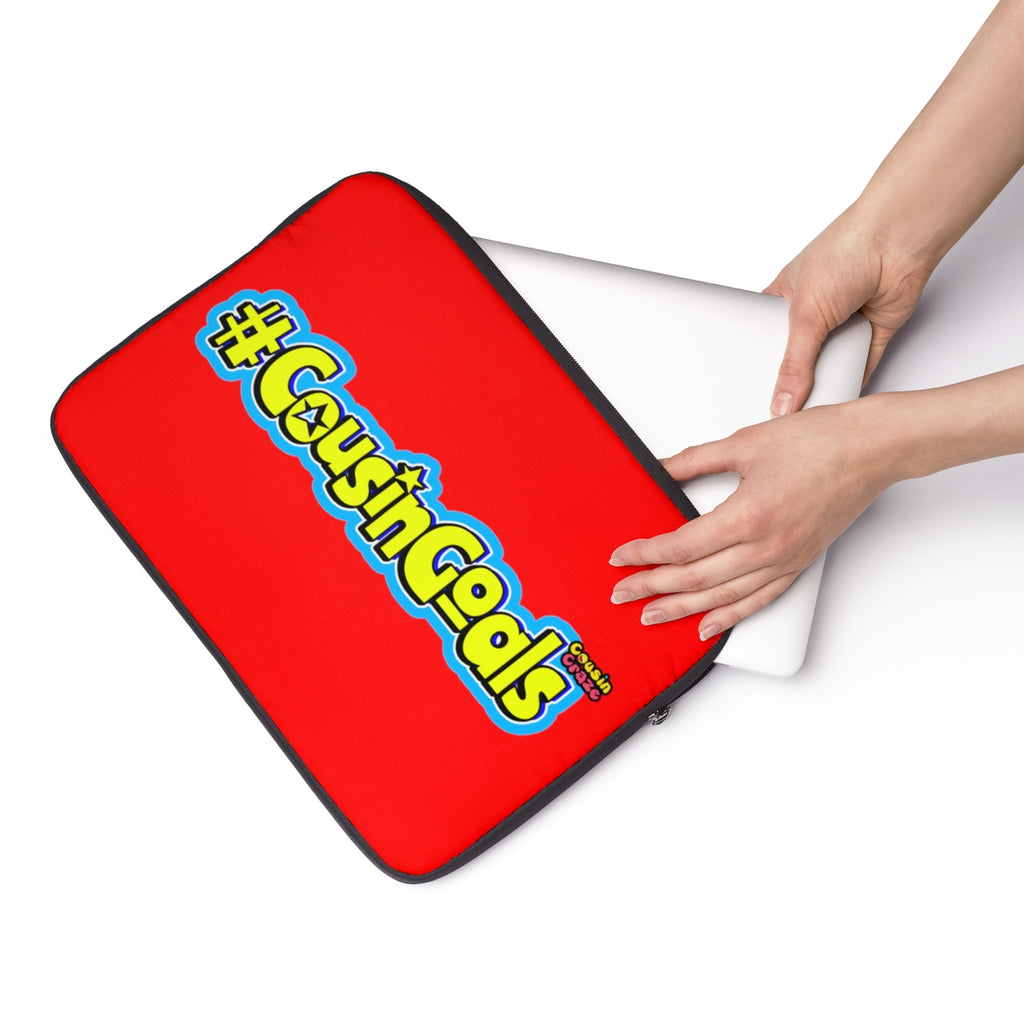 #CousinGoals Laptop Sleeve