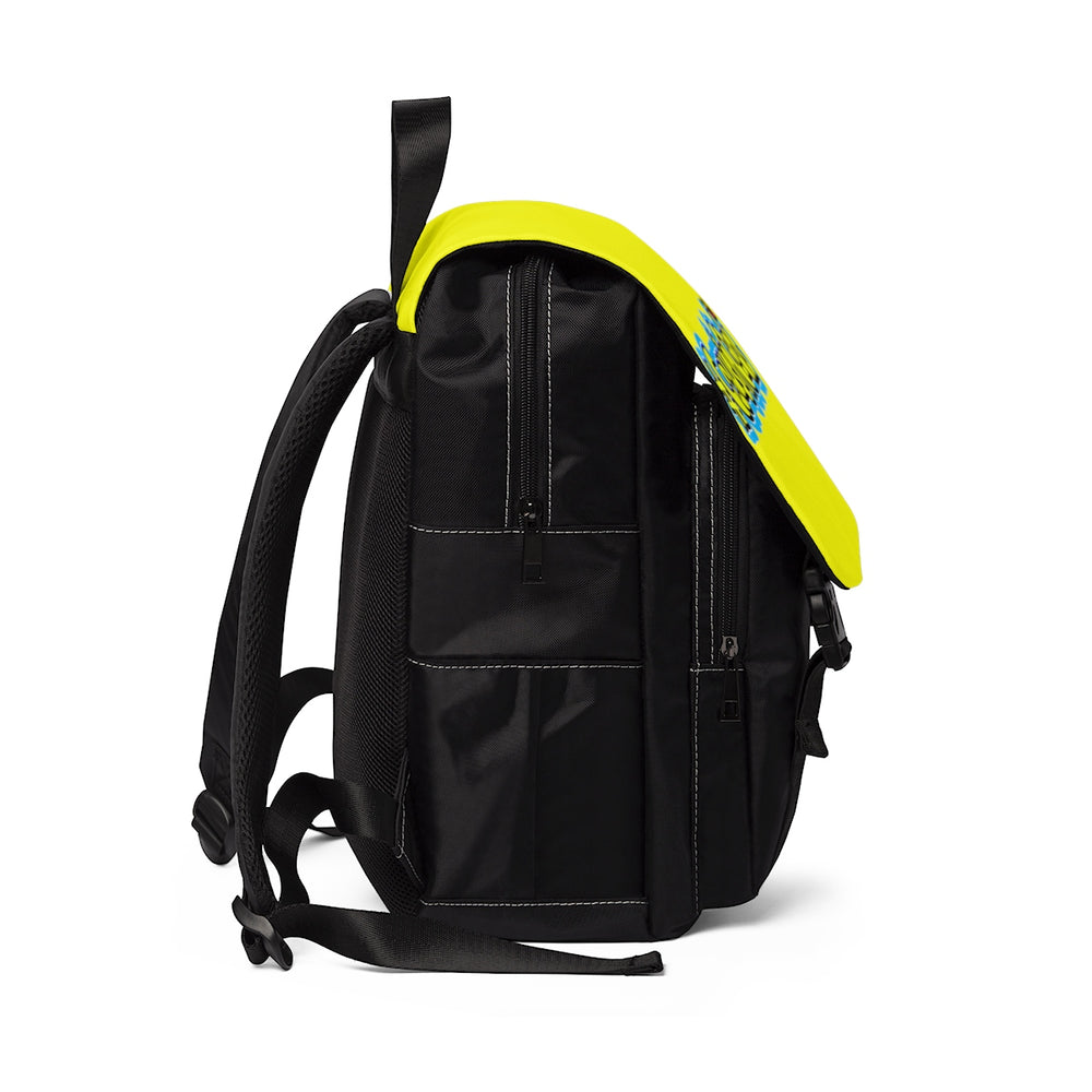 #CousinGoals Casual Shoulder Backpack (Yellow)