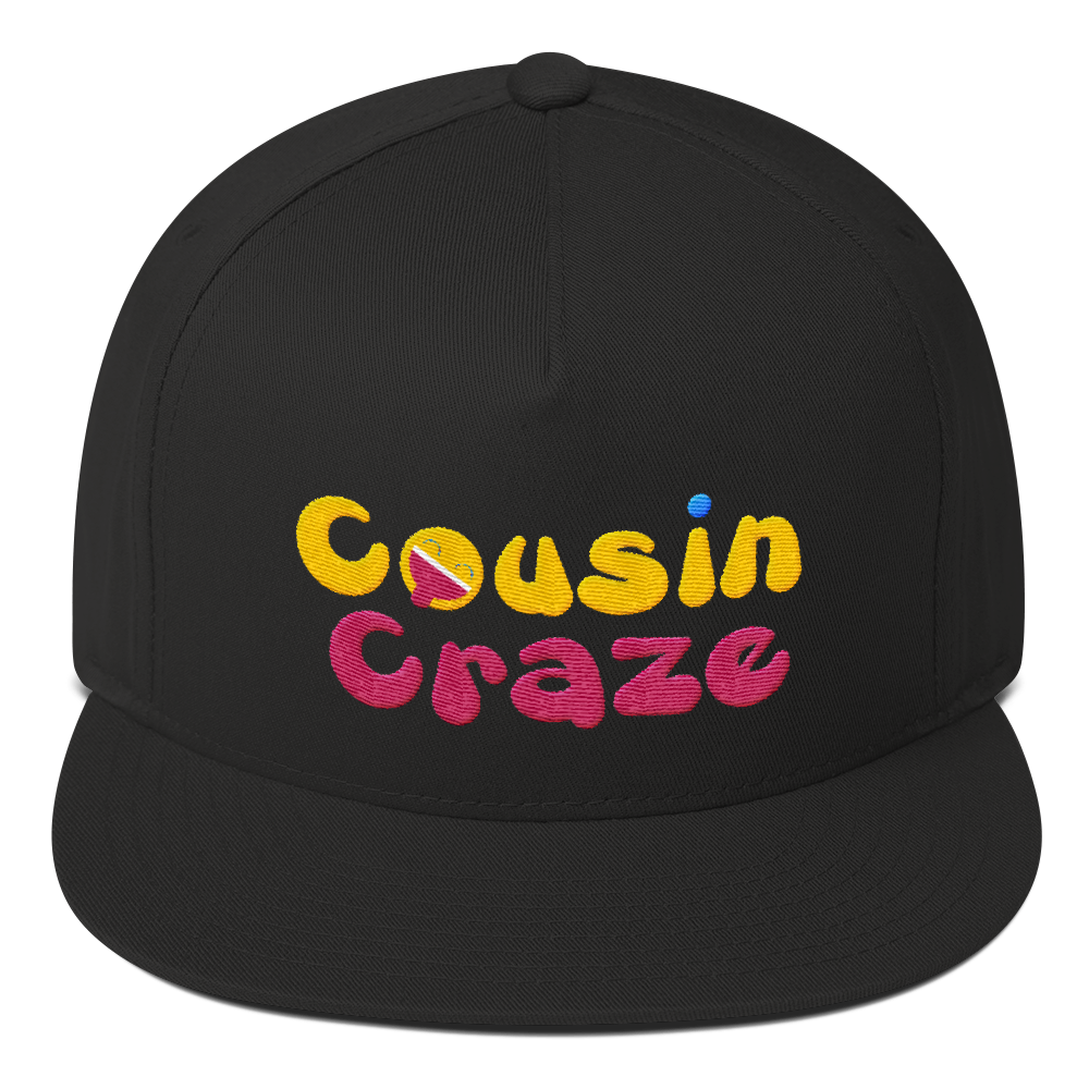 Cousin Craze Flat Bill Cap