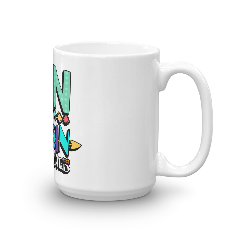 The Fun Cousin Just Arrived Coffee Mug