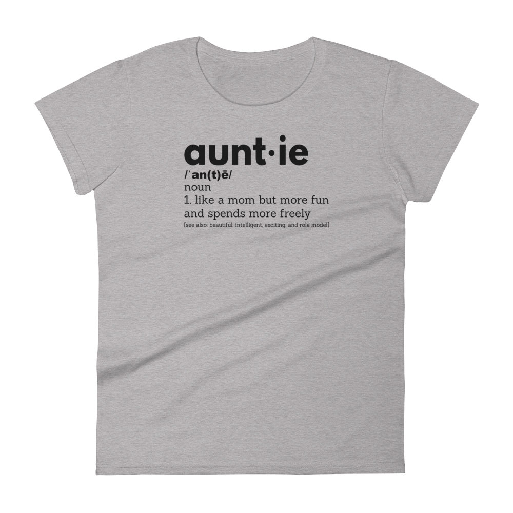 Auntie Definition T-Shirt - Women's