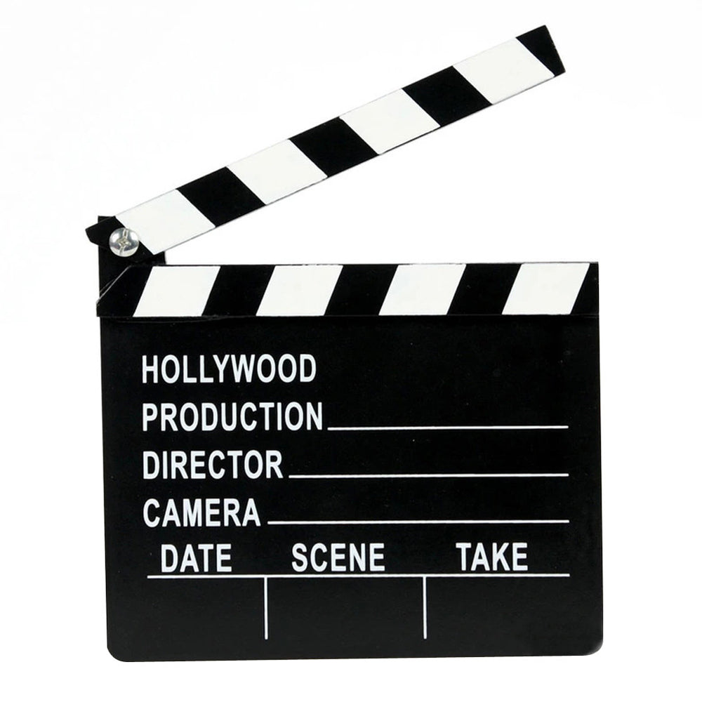 Wooden Director's Movie Clapboard Toy