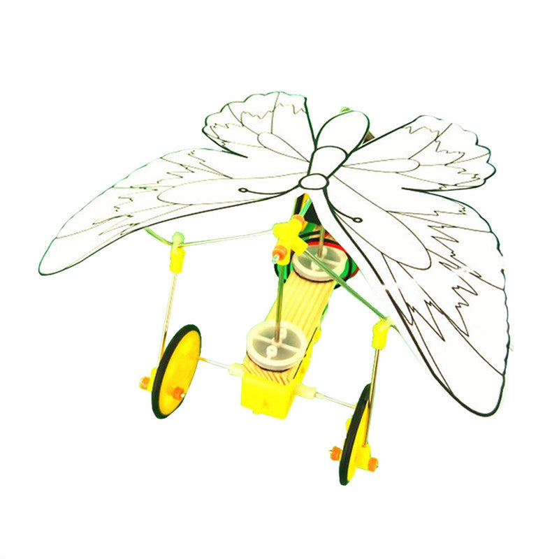 DIY Assembly Electric Butterfly Model Kit (STEM)