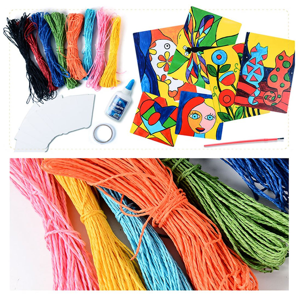 DIY Creative Paper String Painting Book