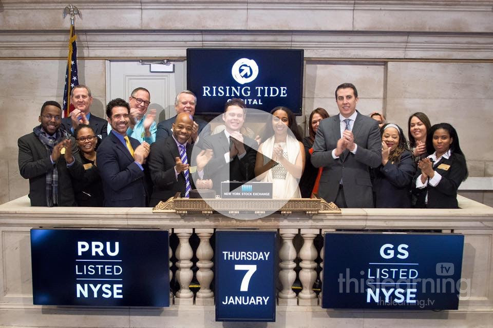 2016 THISLEARNING® on Wall St – Jersey City Video Studio Helps Ring New York Stock Exchange Opening Bell