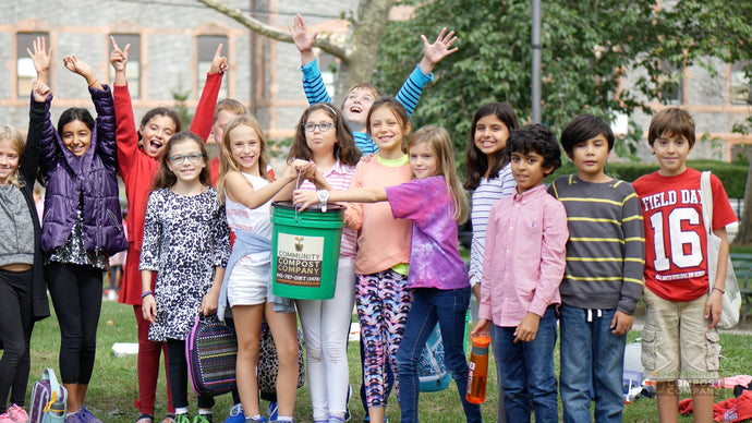We Help Community Compost Company, Kids, and Communities Go Green