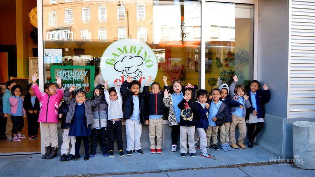 Rene Teaches Healthy Food Fun at Bambino Chef