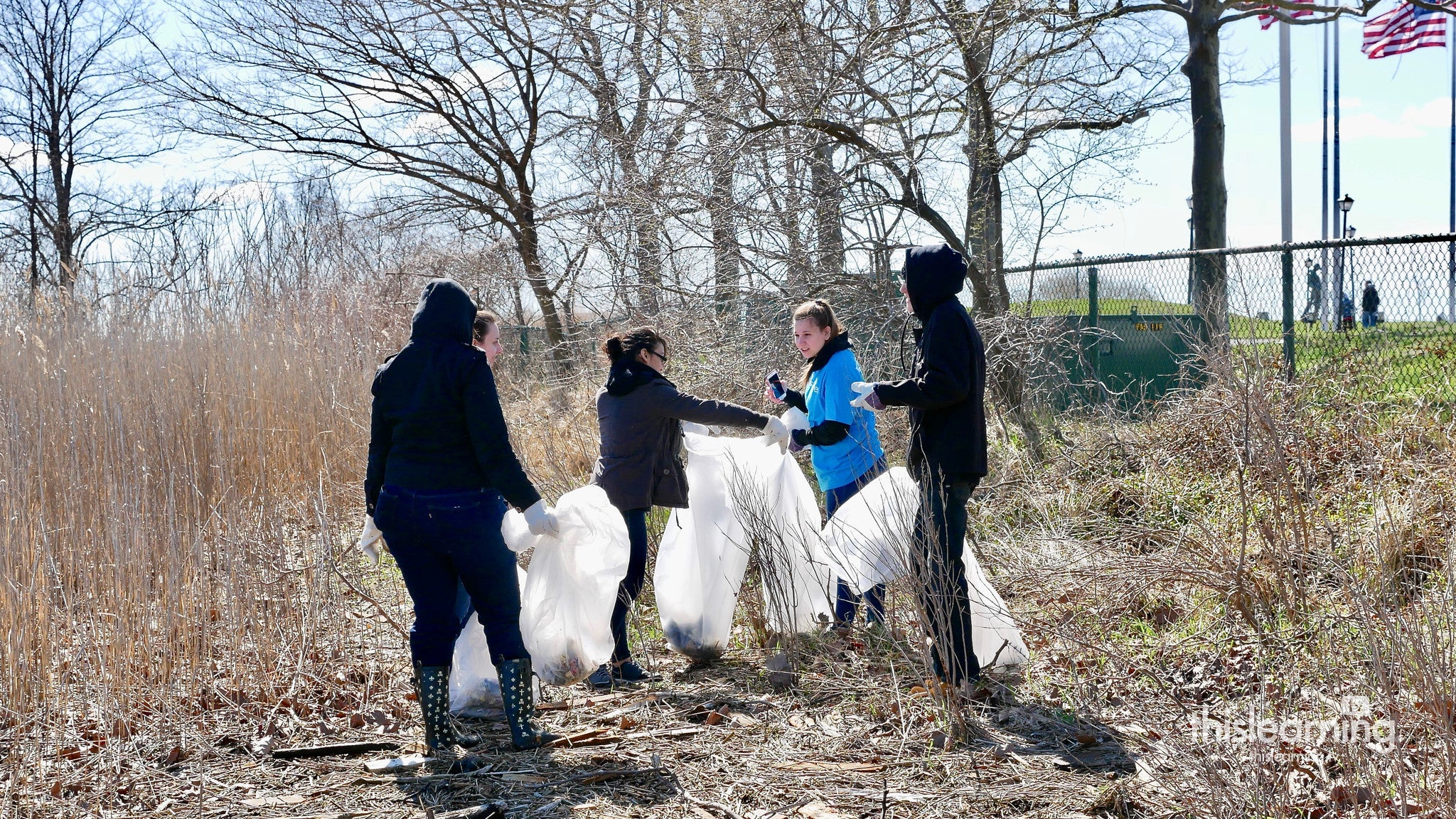 Salt Marsh Cleanup at Liberty State Park
