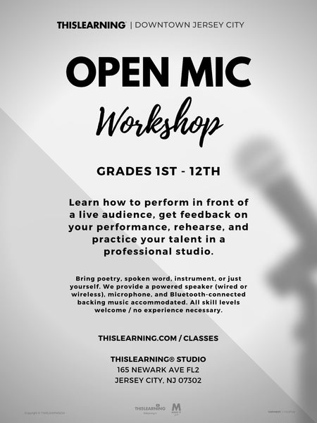 Open Mic Workshop