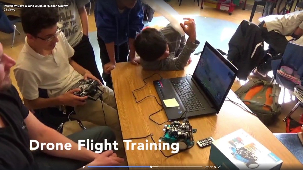 The Innovation Squad Uses Drones, Blimps, and Robots to Inspire Learning