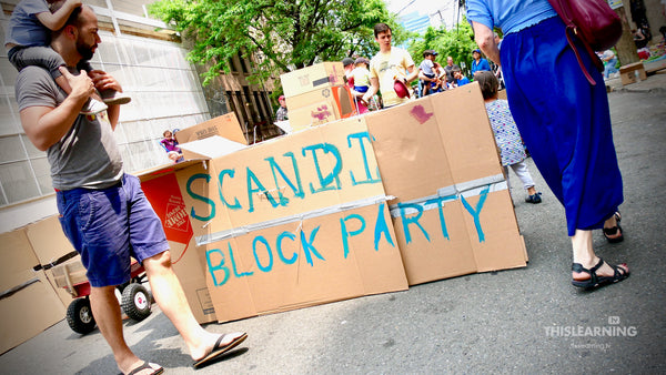 Scandi School Puts Creative Learning In Action (Block Party 2019)