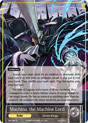 Machina, the Machine Lord // Machina, the Mechanical Emperor (Non-Foil) / Near Mint / Normal